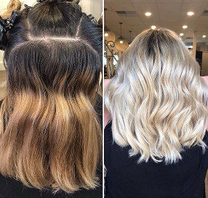 best hair salon near me Corrective hair color